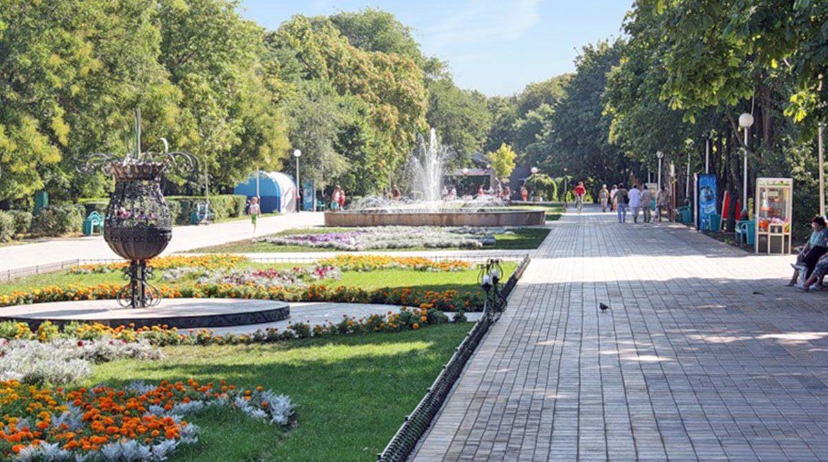парки в Ейске