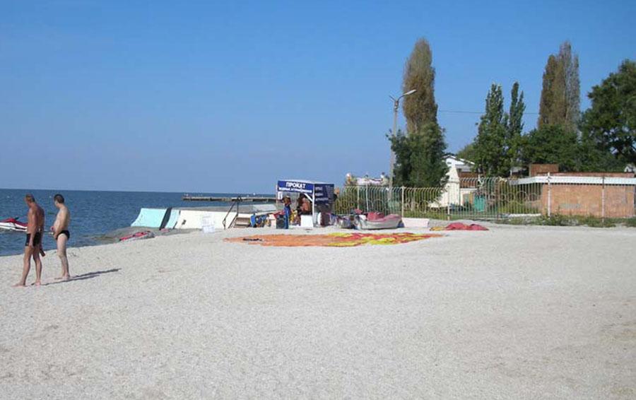 Пляжи в Ейске