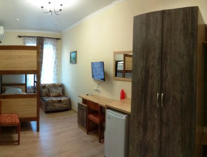 Гостевой дом №35 – 6ти местный номер